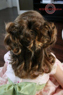 Girly Do's By Jenn: Heads Up Do: Girls Head, Hair Ideas, Girly Hairstyles, 3Ball Hairstyles, Girls Hair Dos, Favorite Hairstyles Mak, Adorable Hairstyles, Girls Hairstyles, Pageants Hairstyles