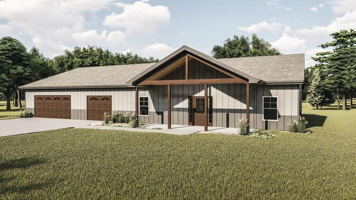 29672 Grand Valley Barndominium Home Material List At Menards In 2021 Building Plans House Building A House House Design
