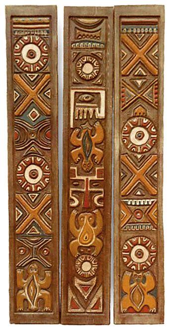 OCEANIC ARTS Catalog - Carved Wood Moldings & Trim