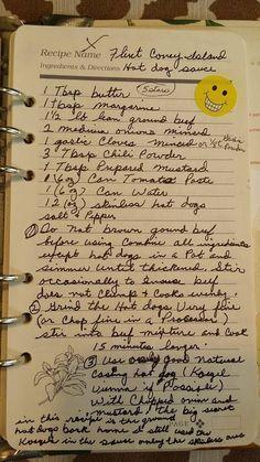 Angelos coney island sauce recipe.. its a Flint, MI tradition #Coney_Dog_Recipe #Best_Recipes #Hotdog_Recipes: