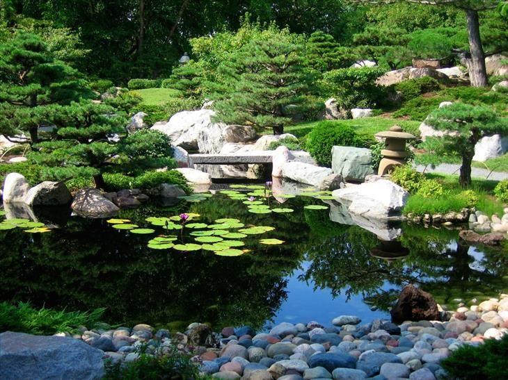 Jardín Honbo, Osaka, Japón.