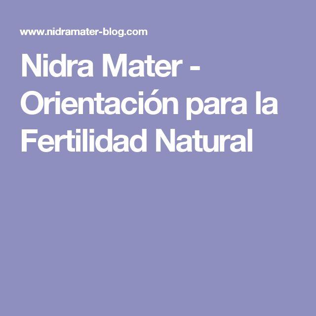 Nidra Mater - Orientación para la Fertilidad Natural