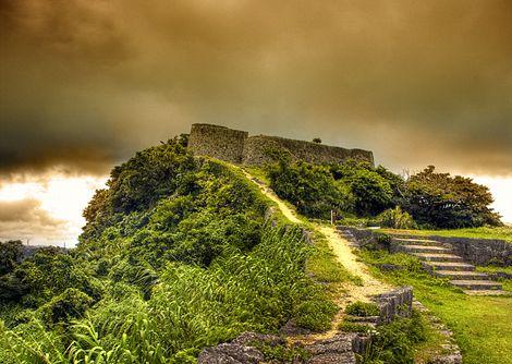 Katsuren Castle, Okinawa, Japan