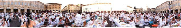 cena in bianco , white, torino, piazza castello, isi eventi www.isieventi.com