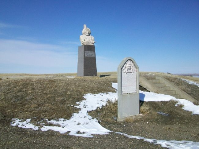 Grave Marker- Sitting Bull (Famous Indian)