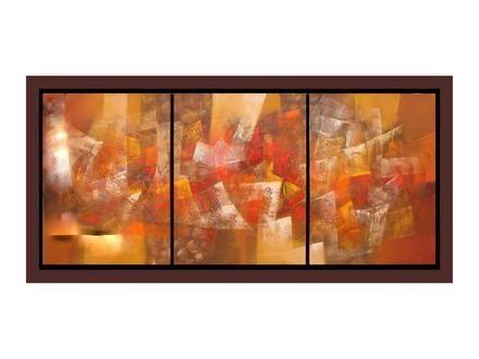 Decore cuadros al oleo abstractos modernos para la sala for Cuadros para salas pequenas