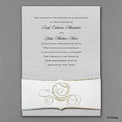 Fairy Tale Carriage Cinderella Wedding Invitation  Http://partyblockinvitations.occasions Sa.