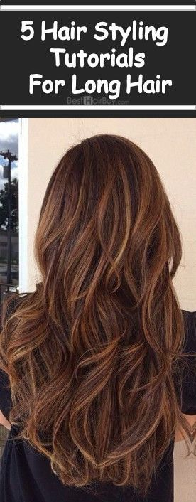 5 Hair Styling Tutorials For Long Hair--#Hairstyle --Learn more popular hairstyle with #Besthairbuy