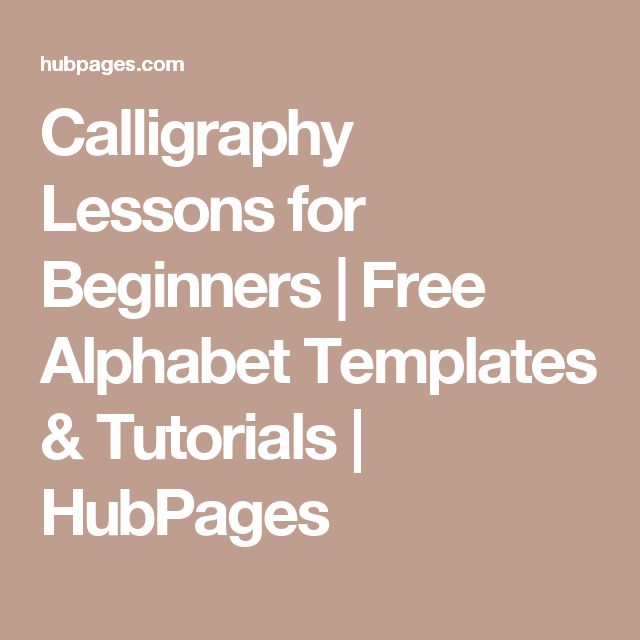 Best 25 Calligraphy Lessons Ideas On Pinterest How To