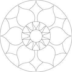 Chakra mosaic pattern by Brett Campbell Mosaics535 x 535 | 30.7KB | www.mosaics.com.au                                                                                                                                                      More