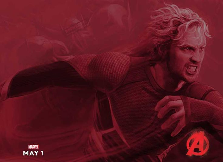 Character Poster for Quicksilver from Avengers Age of Ultron