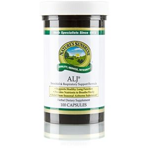 ALJ® (100 caps) Stock#774-3 Key Respiratory System Formula used by many for lung and sinus congestion, allergies, cough, asthma.  Betty Benton, proud Independent Distributor, # 905241