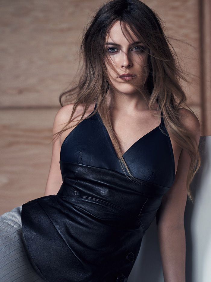 Riley Keough Loves Leather In Nathaniel Goldberg Images For Vogue Australia May 2015 — Anne of Carversville