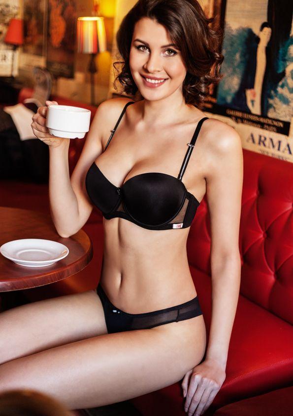 Samanta lingerie - New collect Heka black bra: A472 pants: M200 www.samanta.eu