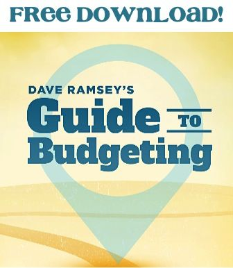 FREE e-Book: Dave Ramsey's Guide to Budgeting! - get motivated with these budget tricks and money saving tips! #thefrugalgirls