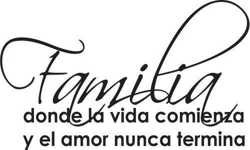 Spanish Wall Saying Quotes- Familia Donde La Vida Comienza Wall Quote-home & Art Wall Decor Global Sign Images Inc.,http://www.amazon.com/dp/B00K7FB0QG/ref=cm_sw_r_pi_dp_s1KCtb001MNGEM3W