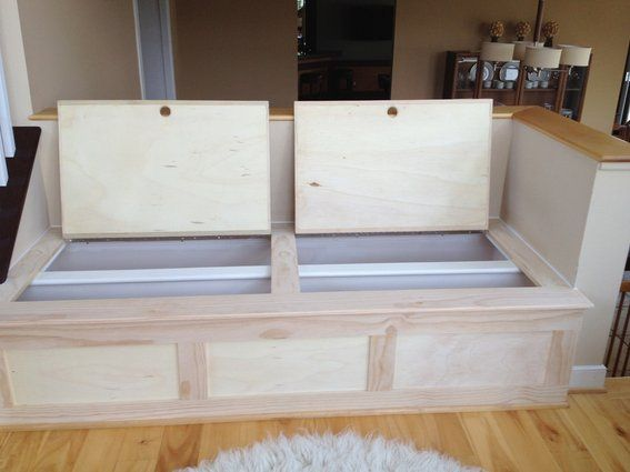 kitchen bench seating with storage custom built storage bench has a