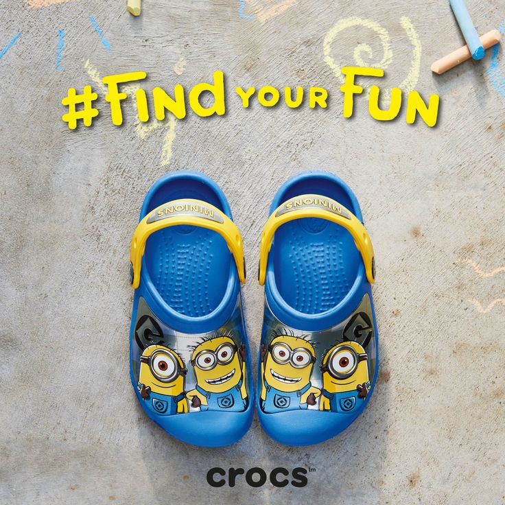 Back to school is just around the corner. Let your kids find its fun by wearing their favourite minions to school. Crocband Minions Clogs.  Available at Crocs Stores Across the UAE. #crocs #Findyourfun #shoes #clogs #mydubai
