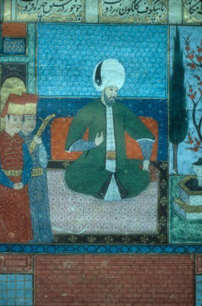 Title Suleymanname Topic Suleymanname Subject Art, Islamic Miniature painting -- 16th century -- Turkey People Category Ottoman Turkish...