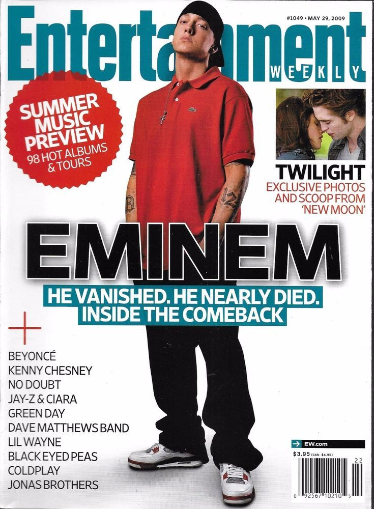 Entertainment Weekly magazine Eminem Twilight New Moon The Wayans family