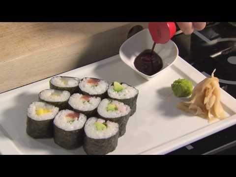 Sushi på 1-2-3 - mmmm!