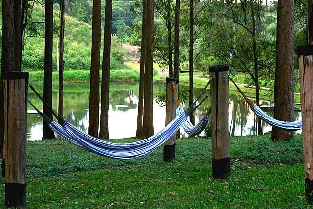 Descansar na rede com uma vista espetacular !