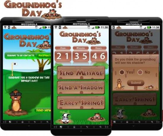 Groundhog's Day - Punxsutawney Phil's favorite Android app (Free download) | Android Central