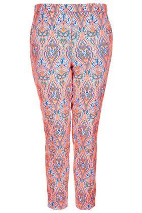 Fluro Paisley Trousers