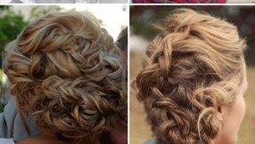45 Hochzeitsfrisuren von Charming Bride für natürlich lockiges Haar