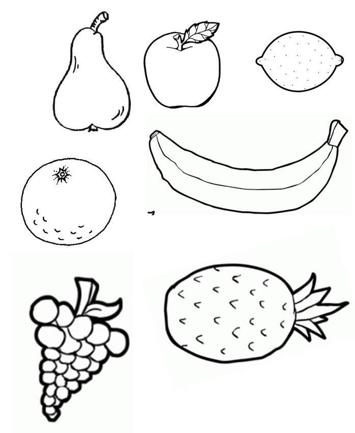 les 1 vruchten van de Geest knipblad. Vruchten apart op gekleurd papier uitrinten.