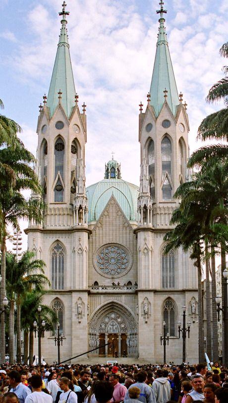Catedral da Sé - São Paulo - Brazil (by Fernando Stankuns)