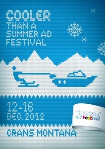 "Finalist / Campaign: ""Cooler than a summer ad festival"" / Creatives: Boyko Taskov & Ivan Raykov / Agency: Publicis Sofia / Country: Bulgaria: Ad Festival, Contest 2012, Boyko Taskov, Festival Poster, Poster Contest, Publicis Sofia, Ivan Raykov, Summer Ad"