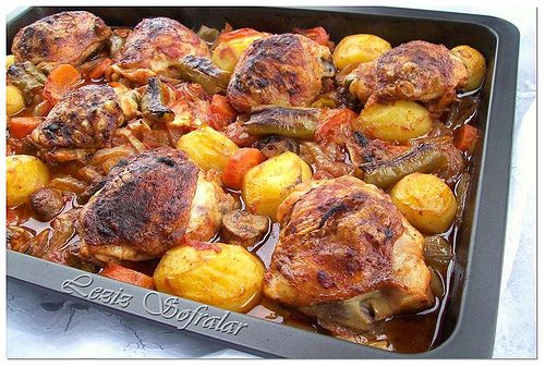 sebzeli tavuk by lezizsofralar, via Flickr
