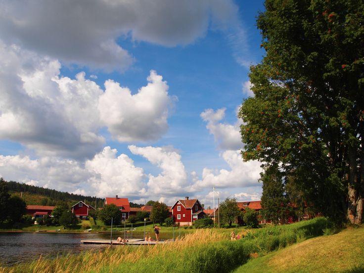 Nordåker is a small village in Dalarna. Photo by Synove Borlaug