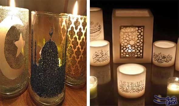 الاعتماد على أضواء الشموع لإضفاء الرومانسية في رمضان ي مكن استبدال أضواء المصابيح بضوء الشموع المتعددة الألوان والأشكال Candles Coloured Candles Candlelight