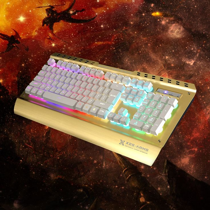 59.99$  Watch now - Zoweetek X25  Backlit Gaming Genuine Mechanical Keyboard Anti-ghosting Computer Luminous Metal Wired Keyboard for Laptop Desktop  #aliexpress