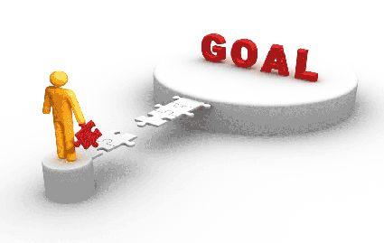 Ben onderweg en zal mijn doel bereiken!