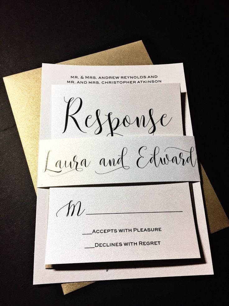 handwrite or print wedding invitation envelopes%0A Modern Wedding Invitation  Classic Wedding Invitation  Timeless Wedding  Invitation  LAURA VERSION