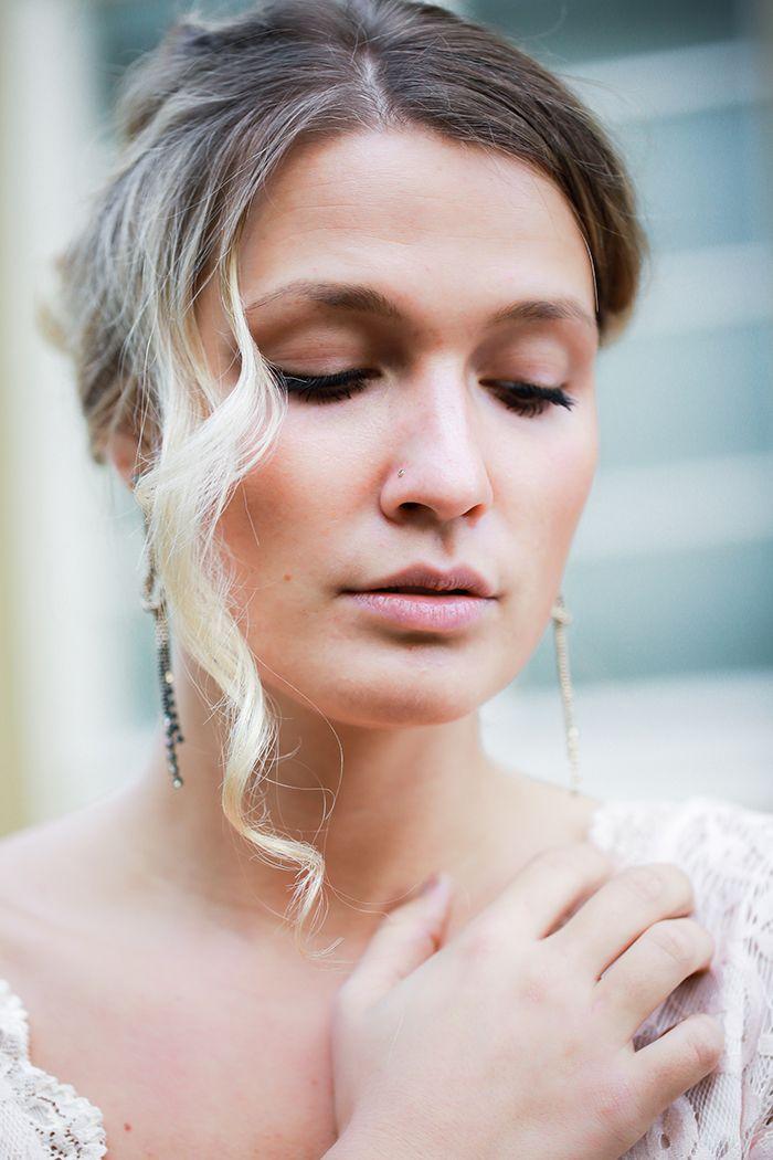 17 best images about braut make up bridal makeup on pinterest wedding honeymoon pictures. Black Bedroom Furniture Sets. Home Design Ideas