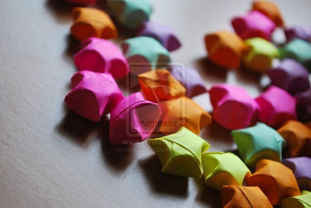 Etoiles origami