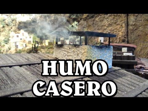 DIY HUMO CASERO PARA LA CHIMENEA Y FUEGO DEL PESEBRE, BELÉN - SMOKE FOR BELÉN - YouTube