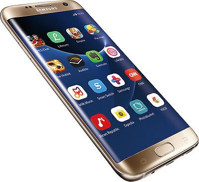 Samsung Galaxy S7 edge SM-G935 (Latest Model) - 32GB - Gold (T-Mobile) 7/10
