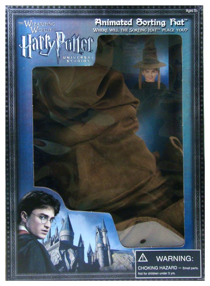 Wizarding World of Harry Potter TALKING & MOVING SORTING HAT Prop Replica Toy