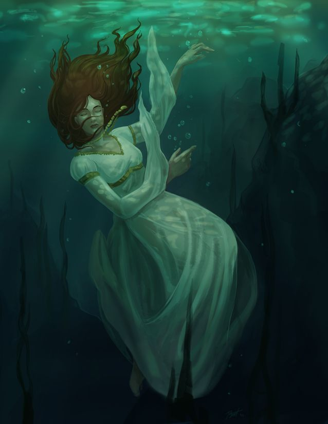 drowning fantasy - Google Search