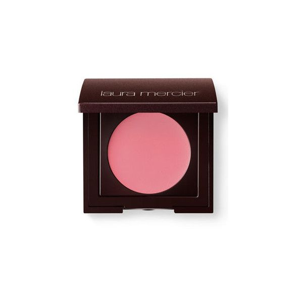Laura Mercier Creme Cheek Colour (€23) ❤ liked on Polyvore featuring beauty products, makeup, cheek makeup, blush, rosebud, laura mercier blush and laura mercier