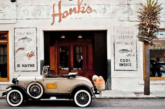5. Hank's Seafood - Charleston, SC. Didn't have time to eat here but the ladies we met loved it & my friend who was raised in Charleston recommended it