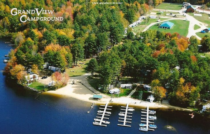 Grandview Campground Rochester, NH - I can't wait to get up to camp this summer