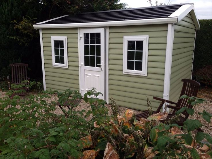 Shiplap Steel Sheds From €1,950 ideal for Home Office / Saloon / Games Room