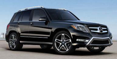 Mercedes GLK350.....will be sitting in the garage.