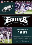 NFL: Greatest Games - Philadelphia Eagles 1980 NFC Championship Game [DVD] [English] [1981], 1000035194